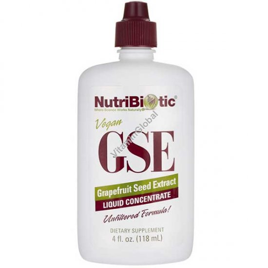 GSE Grapefruit Seed Extract 118ml (4 FL. OZ.) - NutriBiotic