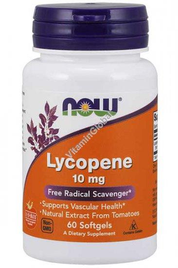 Lycopene 10 mg 60 Softgels - Now Foods