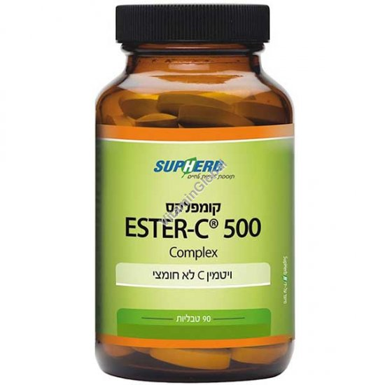 Ester-C Complex 500 mg 90 tablets - SupHerb
