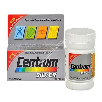 Centrum Silver Multivitamin for Adults 50+ 60 tablets