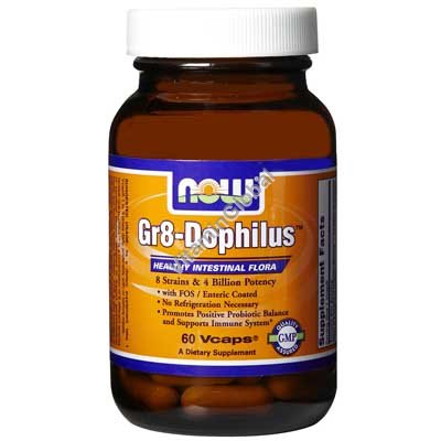 Gr8-Dophilus 60 Vcaps - NOW Foods