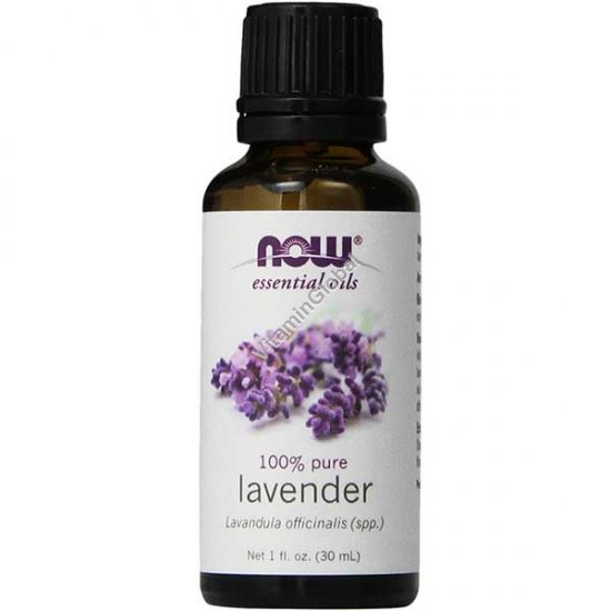 Lavender Oil 30ml (1 fl oz) - Now Essential Oils
