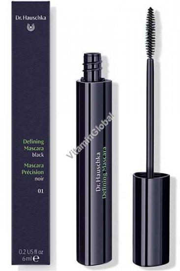 Defining Mascara Black (01) 6ml (0.2 US fl oz) - Dr. Hauschka