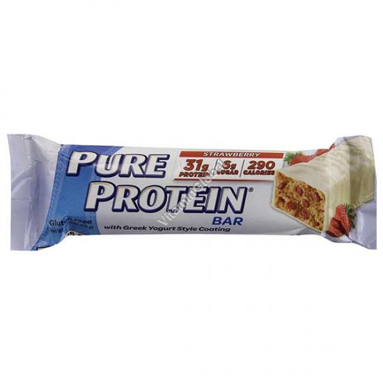 Pure Protein Bar Strawberry with Greek Yogurt 78g - WorldWide