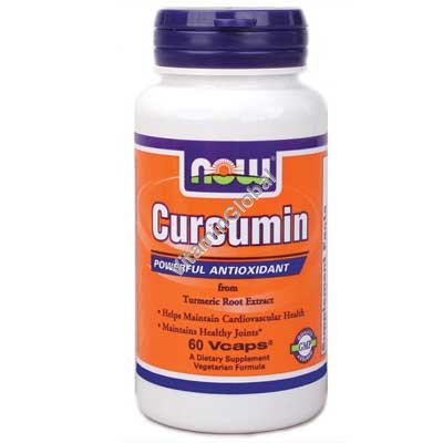 Curcumin from Turmeric Root Extract 60 Vcaps - Now Foods