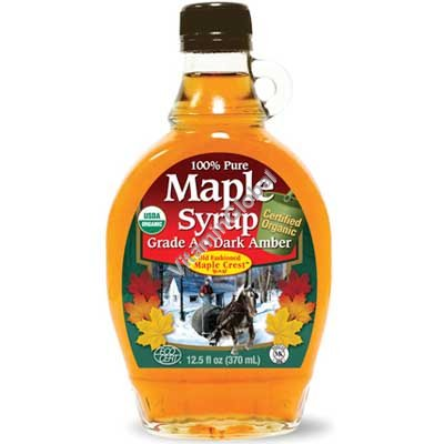 Pure Organic Maple Syrup 236ml - Bernard