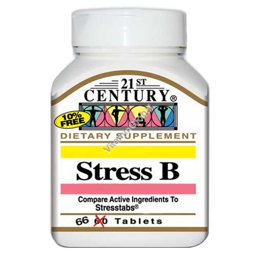 Stress B 66 tablets - 21st Century