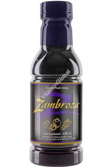 Zambroza Powerful Antioxidant Fruit Drink 458 ml - Nature\'s Sunshine Products