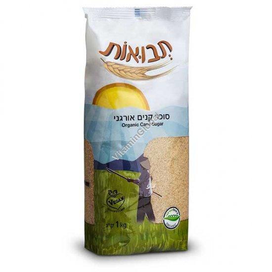 Organic Cane Sugar 1kg - Tvuot