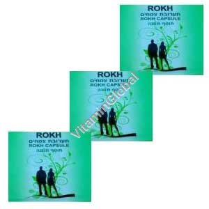 Rokh - Natural Viagra Formulation 6 capsules (3 packets of 2 capsules each)