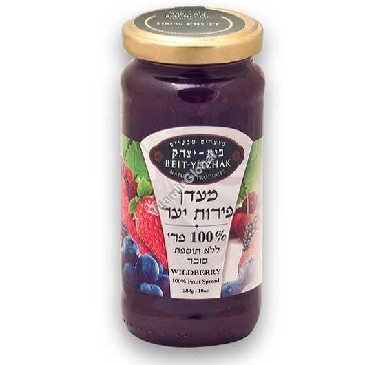 No Sugar Added Wildberry Jam 284g - Beit Yitzhak