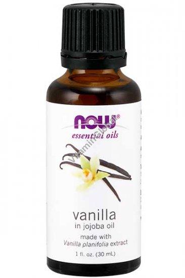 Vanilla in Jojoba Oil 1 fl oz (30 ml) - Now Essential Oils