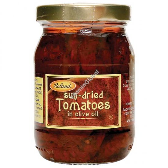 Sun-Dried Tomatoes in Olive Oil 340g - Roland