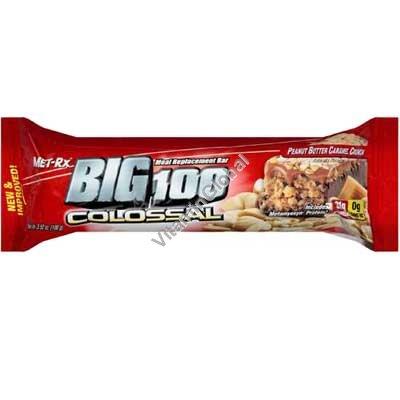 Peanut Butter Caramel Crunch Bar 100g - MET-Rx