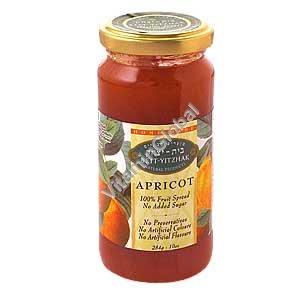 No Sugar Added Apricot Jam 284g - Beit Yitzhak