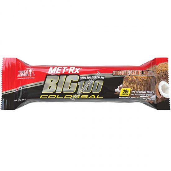 Chocolate Caramel Coconut Big 100 Colossal Protein Bar - MET-Rx