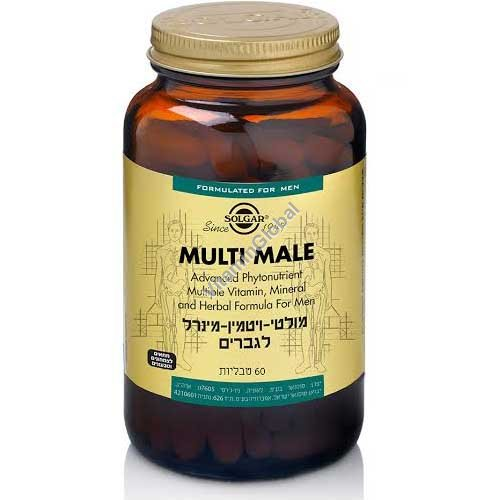 Multi Male (Male Multiple) 60 tablets - Solgar