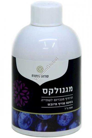 Magnolax for the treatment of constipation, Prune Flavor 500 ml - Oriental Secrets