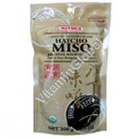 Organic Unpasteurized Hatcho Miso 300g (10.5 OZ) - Mitoku
