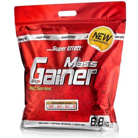 Kosher Mass Gainer Chocolate Flavour 6800g - Super Effect
