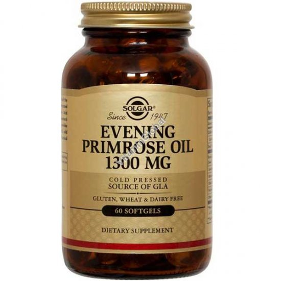 Evening Primrose Oil 1300 mg 60 Softgels - Solgar