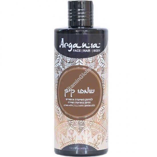 Hair Strengthening Castor Oil Shampoo 400 ml (13.5 oz) - Argania