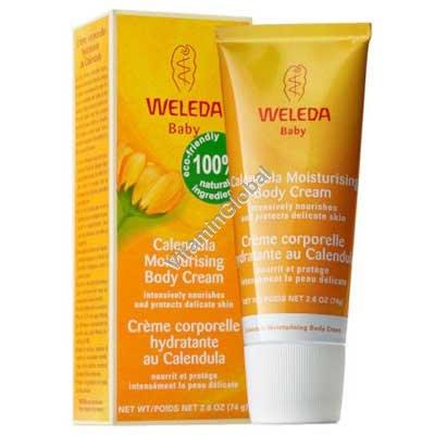 Calendula Moisturising Body Cream 75 ml - Weleda