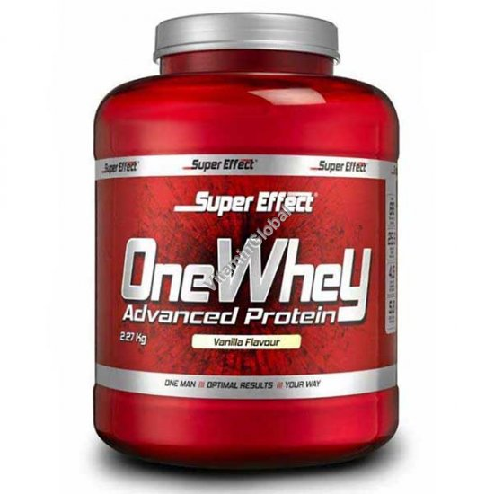 Kosher OneWhey Advanced Protein Vanilla Flavour 2.27 kg - Super Effect