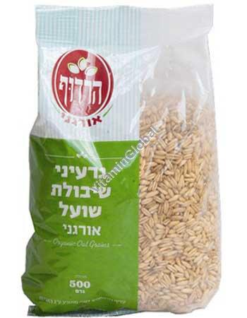 Organic Oat Grains 500g - Harduf