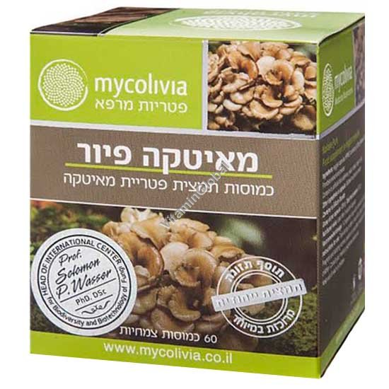 Maitake Pure 60 Veggie capsules - Mycolivia