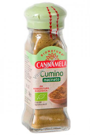 Organic Ground Cumin 38g - Cannamela