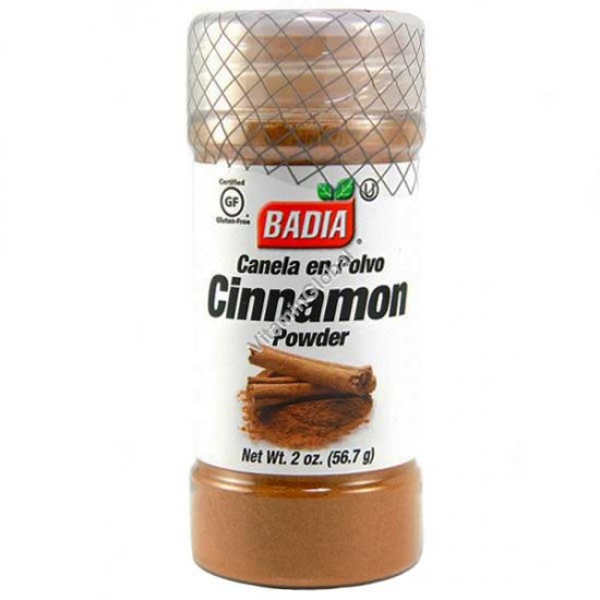 Gluten Free Cinnamon Powder 2 oz. (56.7g) - Badia
