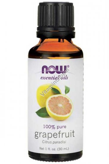 Grapefruit Oil 100% Pure 30ml - Now Essential Oils