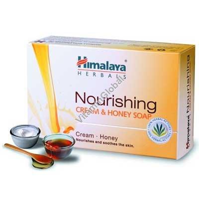 Moisturizing Cream & Honey Soap for normal skin 70g - Himalaya Herbals