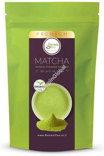 Organic Japanise Matcha Powdered Green Tea 50g - Daniels Tea