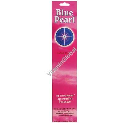 Wild Rose Natural Incense Sticks 10g - Blue Pearl