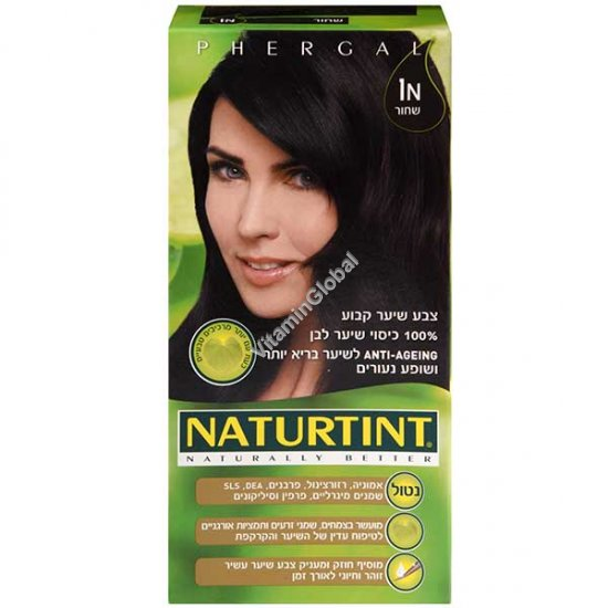 1N Ebony Black - Naturtint