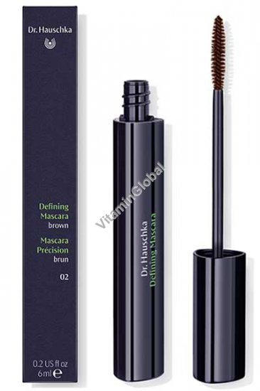 Defining Mascara Brown (02) 6ml (2 US fl oz) - Dr. Hauschka