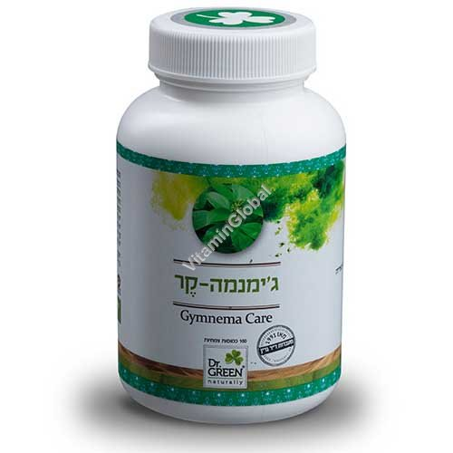 Kosher L\'Mehadrin Gymnema to support healthy blood sugar balance 60 capsules - Dr. Green