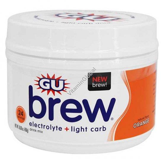 Premium Electrolyte Brew Orange 456g (16.08 oz.) - GU