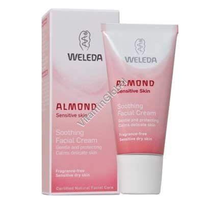 Almond Soothing Facial Lotion 30ml - Weleda