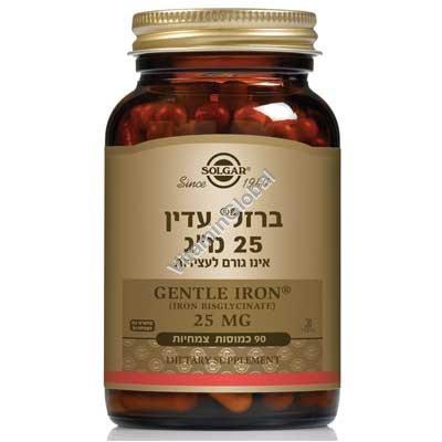 Gentle Iron 25 mg 90 caps - Solgar