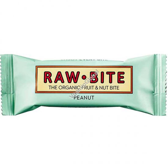 Organic Peanut Bar 50g - Raw Bite