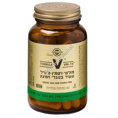Multi Vitamin VM-75 60 Vegicaps - Solgar