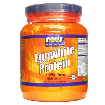 Eggwhite Protein 544g - Now Foods