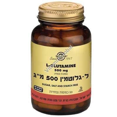 L-Glutamine 500 mg 50 caps - Solgar
