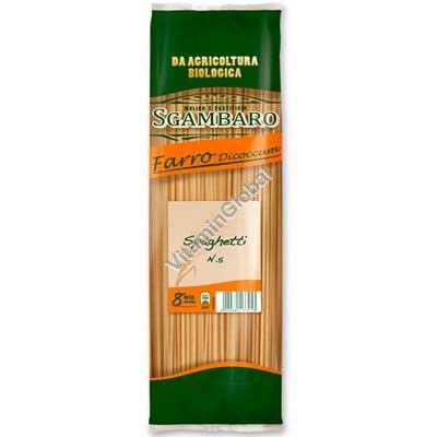 Organic Whole Spelt Spaghetti 500g - Sgambaro