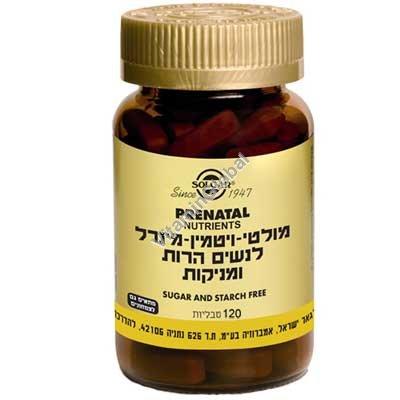 Prenatal Nutrients 120 tablets - Solgar