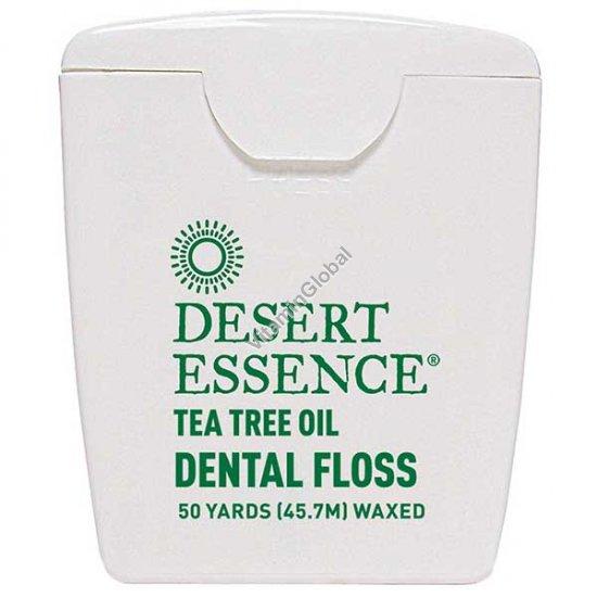 Dental Floss Tea Tree Oil 45.7 m - Desert Essence
