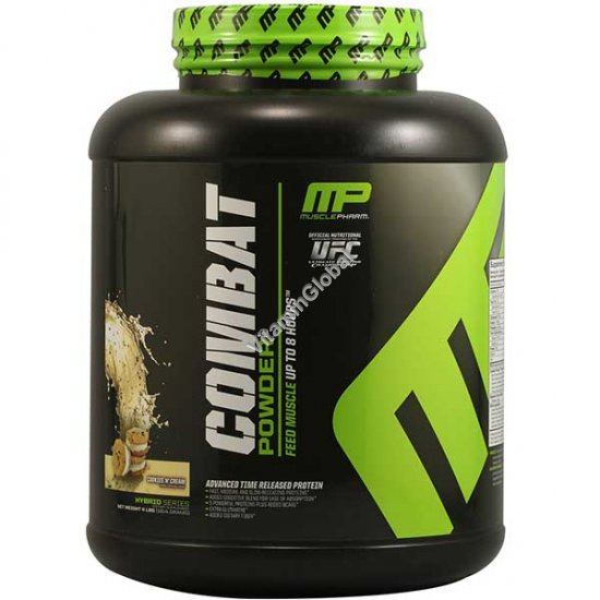 Combat Protein Powder Cookies \'N\' Cream 1814 g (4 LBS) - MusclePharm